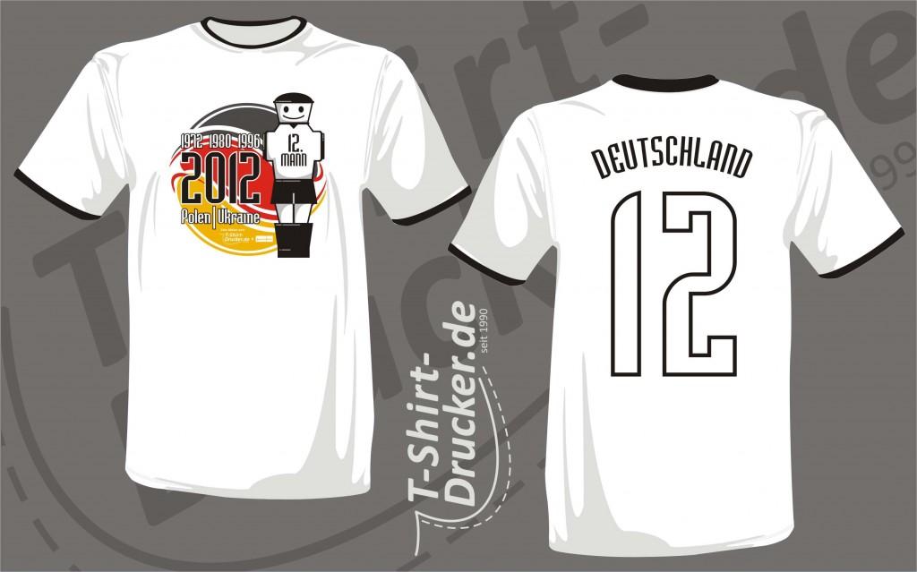 Das EM-Shirt für die Gratis-Aktion